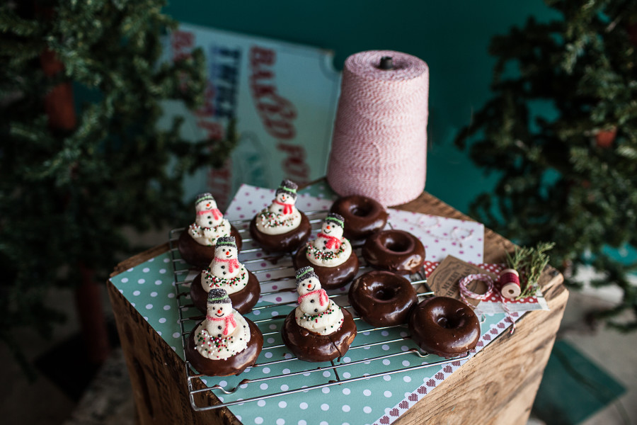 SP    Christmas donuts